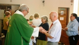 The First Sunday Masses of Rev. Mr. Nicholas StJohn as a Permanent Deacon.