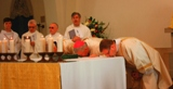 The Ordination of Nicholas StJohn to the Permanent Diaconate. The Veneration of the Altar.