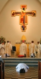 The Ordination of Nicholas StJohn to the Permanent Diaconate. The Litany of Saints.