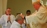 The Ordination of Nicholas StJohn to the Permanent Diaconate.Laying on of Hands and Prayer of Consecration.
