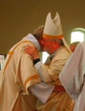 The Ordination of Nicholas StJohn to the Permanent Diaconate. The Kiss of Peace.