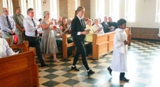The Ordination of Nicholas StJohn to the Permanent Diaconate. The Procession with the Gifts.